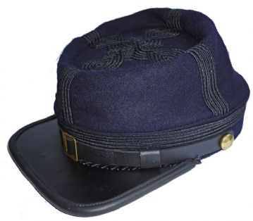 Union General's Or Colonel's Blue Kepi [5 Lines Of Braid]